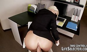 Bang your flustered boss, phoenix marie!