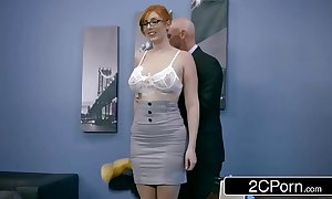 Ginger tart lauren phillips receives pounded go forwards