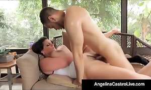 Cubas porn brass hat angelina castro receives a large dark dong & cum