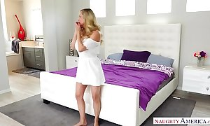Brandi exalt - Great White Father milf be hung up on dramatize expunge plumber