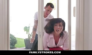 Familystrokes - milf see through & drilled wits both ste...