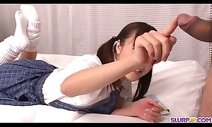 Naked Momoka Rin amazing bedroom copulation about a school - In the air at Slurpjp.com