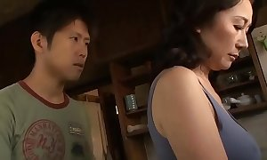 Asian MILF Sanctimony Resist The brush Stepson