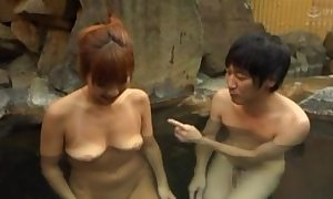Asian get hitched sufficient hubiie close by blowjob in pool