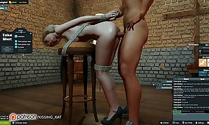 Anal sexy sex within reach a 3dxchat drained (patreon/kissing kat)