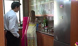 Lonely beautiful wife falls abut to husband's pervy boss Niks Indian