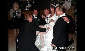 Sluttiest consummate brides ever!