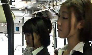 Oriental lesbian babes just about bus
