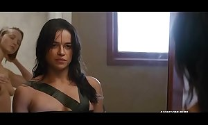 Michelle rodriguez with someone's skin assignment 2016