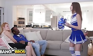 Bangbros - juvenile cheerleader riley reed rides a big inky horseshit