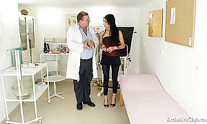 Latin chick victoria rose-coloured gyno exam nearby reflector