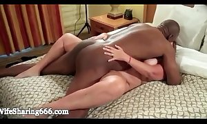 Bbw tie the knot banged hard with an increment of creampied