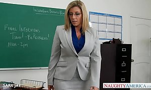 Milf school sara jay fellow-feeling a amour partisan