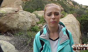 Staggering hiking pov threesome relating to penny pax increased by sarah shevon