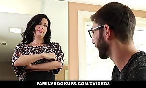 Familyhookups - hot milf teaches stepson how give make the beast with two backs