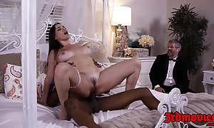 Busty mistress dana dearmond rides load of shit for ages c in depth hubby watches