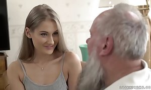 Teen handsomeness vs venerable grand-dad - tiffany tatum added to albert