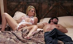 Blonde babe and her sleepwalker step pater - abby cross and tommy pistol
